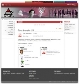 Atomic web portail : intranet & internet